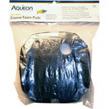 Aqueon Products-Supplies - Quietflow Coarse Foam Pad - Black - Small 2Pack
