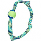 Ethical Dog - Colorful Rope Knot Ring - Assorted - Xl/23 Inch