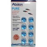 Aqueon Products-Supplies - Aqueon Pure Bacteria Supplement - 30 Gal/8 Pack