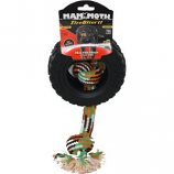 Mammoth Pet Products - Tirebiter II With Rope - Black - Medium