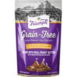 Triumph Pet - Triumph Grain Free Dog Biscuits-Peanut Butter-12 Oz
