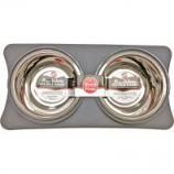 Ethical Ss Dishes - New Wave Double Diner - Gray - 1 Quart