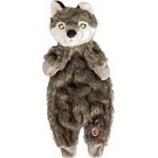 Ethical Dog - Plush Furzz Wolf - Grey - 13.5In
