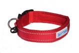 BayDog - Tampa Collar- Red - Small
