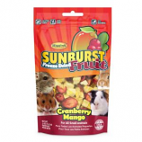 Higgins Premium Pet Foods - Sunburst Freeze Dried Fruits For Small Animals - Cranberry/Mango - 0.5 oz
