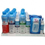 Tropiclean - Oxymed Shampoo Display - Blue/White - 22 Piece