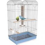 Ware Mfg - Bird Central Parakeet/Finch Cage - Blue/White