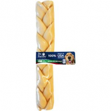 Pet Factory - USA Beefhide Braided Stick - 12 Inch