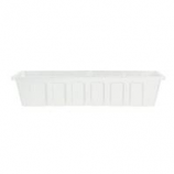 Novelty Mfg -Countryside Flowerbox-White-24 Inch