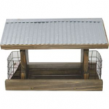 Audubon/Woodlink - Rustic Farmhouse Ranch Feeder With Suet - Natural