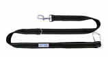 BayDog - Hudson Leash- Black - 6 Feet