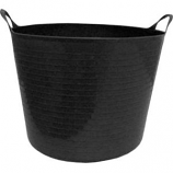 Tuff Stuff Products - Flex Tub - Black - 4 Gallon