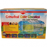 Super Pet - Container - Kaytee Critttrail Led Color Change Habitat - Assorted