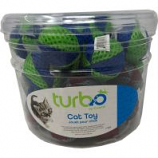 Coastal Pet Products - Turbo Beach Balls Cat Toy Canister - Multi - 36 Piece