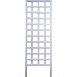 Panacea Products - Wood Square Framed Trellis - White - 72 Inch