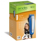 Andis Company Pet - Easy Clip Ultra Clipper Kit For Pets - Blue - 10 Piece