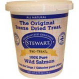 Stewarts Treats - Freeze Dried Dog Treat-Wild Salmon-2.75 Oz