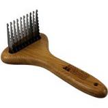 Paws/Alcott - Bamboo Dematting Rake-Bamboo-Large