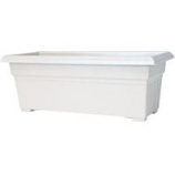 Novelty Mfg -Countryside Patio Planter-White-27 Inch