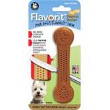Pet Qwerks - Flavorit Flavored Nylon Bone-Peanut Butter-Medium