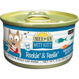 Canidae- Under The Sun - Witty Kitty Rockin & Reelin Cat Food - Whitefish/Salmo - 3 Oz