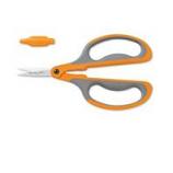 Fiskars  - Cutting  - Softgrip Micro-Tip Floral Snip-Black/Orange-10 Inch