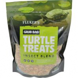 Flukers - Grub Bag Turtle Treat - Insect Blend - 12 Oz