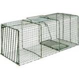 Duke Company-Heavy Duty Live Animal Cage Trap-Green-36X15X14 Inch