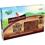 Emerald Pet Products  - Purely Prime Bacon Strips - Turkey - 2.25Oz