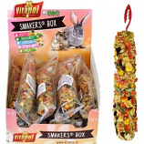 A&E Cage Company - A&E Treat Stick Small Animal Display - Vegetable - 12 Piece