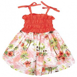 Casual Canine - Hawaiian Breeze Sundress - Small - Orange
