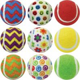 Multipet International - Ruff Enuff Tennis Balls - Asst - 2.5 In/3 Pk