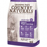 Grandma Mae's Country Natural - Country Naturals Grain Free Weight Control/Hairbal - 4 Lb