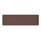Novelty Mfg -Countryside Flower Box Tray-Brown-36 Inch