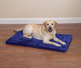Slumber Pet -  Plush Mat  41X27 Inch Blue - Xxlarge - Royal Blue