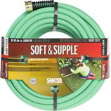 Swan - Soft And Supple Premium Garden Hose-Green-100 Foot