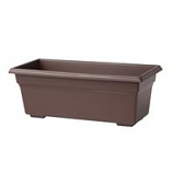 Novelty Mfg -Countryside Flowerbox-Brown-24 Inch