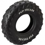 Ethical Dog - Pup Treads Rubber Tire - Black - 8In
