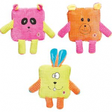 Ethical Dog - Calypso Cuties Square Plush Toy - Assorted - 7 Inch
