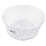 Bond Manufacturing - Deep Plastic Saucer-Clear-12 Inch