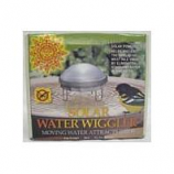 Allied Precision - Solar Water Wiggler For Bird Bath - Silver - 3X6.75 Inch