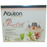 Aqueon Products - Princess Castle Betta Aquarium Kit - Pink/Purple