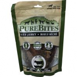 Pure Treats - Purebites Jerky Dog Treat - Beef - 7.5 Oz