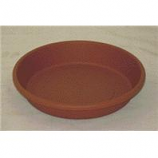 Myers Industries - Classic Pot Saucer - Clay - 8 Inch