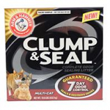 Church & Dwight - Arm & Hammer Clump & Seal Multi - Cat Litter-Fresh Scent - 19 Pound