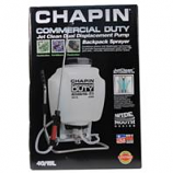 Chapin Manufacturing, P - Commercial Duty Jet Clean Backpack Sprayer - White - 4 Gallon