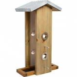 Natures Way Bird Products - Nature'S Way Vertical Feeder - Weathered Galva - 14X7X8.25