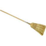 Nexstep Commercial Products - Warehouse Rattan & Corn #40 Broom - Natural - 12 Inch