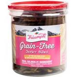Triumph Pet - Triumph Grain Free Jerky Bites-Salmon&Swtpot-20 Ounce