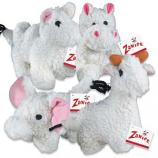 Zanies - Fleecy Friend Llama - 7.5Inch
